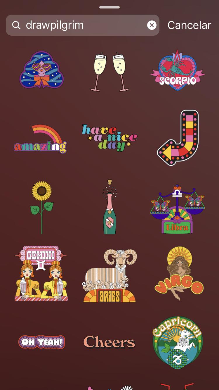 Aesthetic Vintage Retro Stickers Aesthetic Aestheticallypleasing Chillvibes In 2020 Instagram Gift Instagram And Snapchat Instagram Blog