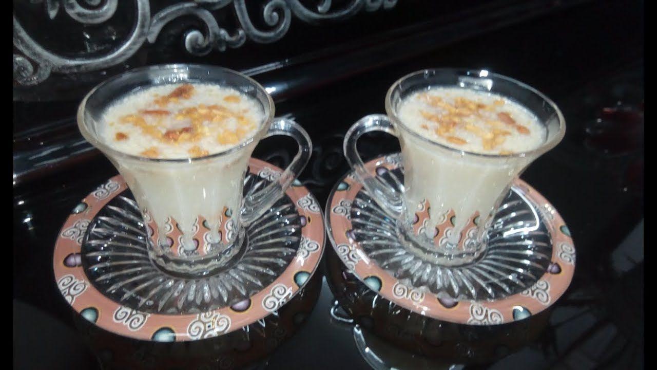 السحلب وطريقة تحضير مكونات السحلب بالبيت Food Desserts Pudding