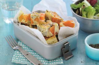 Slimming Worlds butternut squash tortilla
