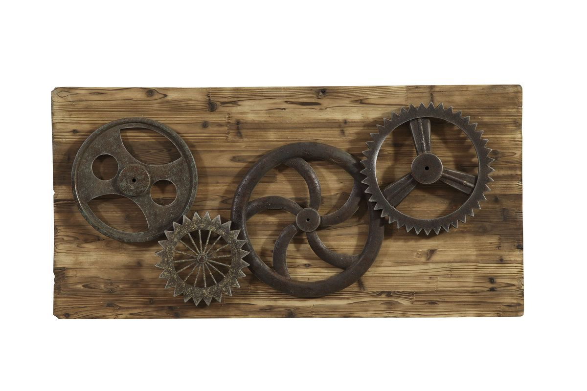 Captivating Industrial Gear Era Wall Art. The Industrial Gear Era Wall Art Has The  Following Features