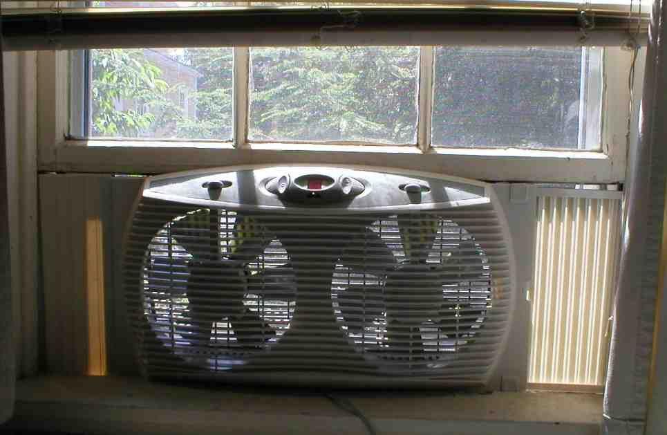 Kitchen Window Exhaust Fan Window Fans Best Windows Fan