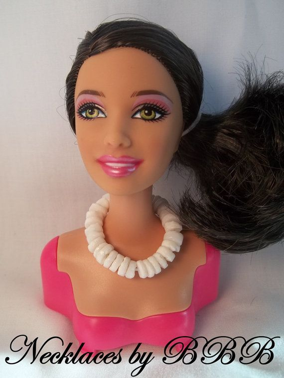Barbie Necklace Fashion Doll Jewelry Faux by BarbieBoutiqueBasics