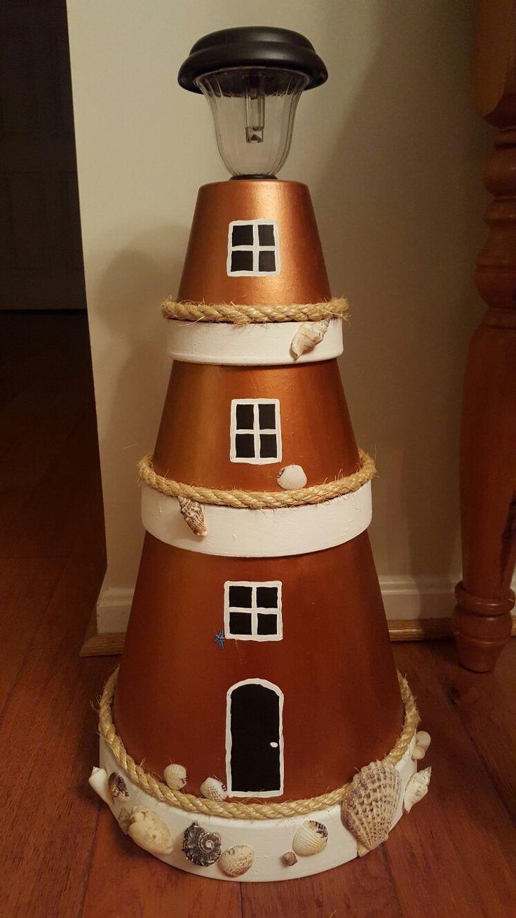My new lighthouse | Leuchtturm basteln, Selbstgemachte ...