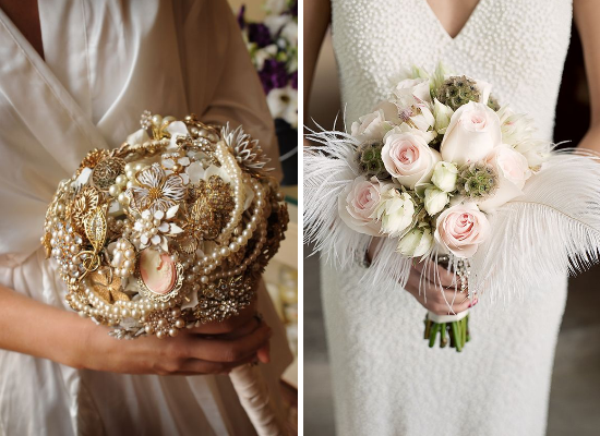 Great Gatsby Wedding Bouquet Matrimonio A Tema Anni 20 Ispirato A