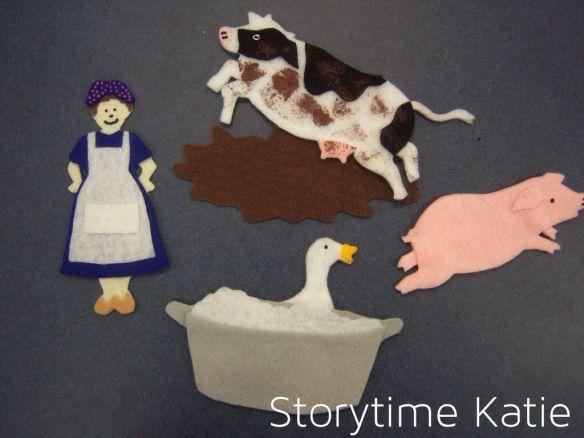 Flannel Friday: Mrs. Wishy-Washy   storytime katie