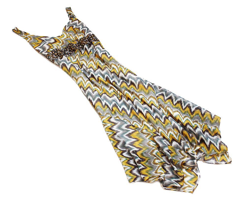 George Szyfonowa Sukienka Wzor Aztecki Dzety 44 7224961176 Oficjalne Archiwum Allegro