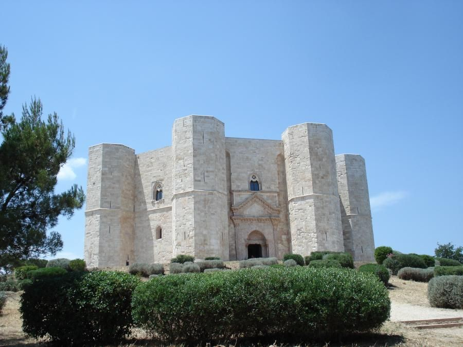 Castel Del Monte In Puglia Italy Is A Medieval Palace Originally Built As Hunting Lodge By The Emperor Frederick II And Later Used His Seat Of Power