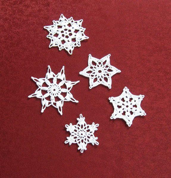 Weihnachtsdeko - Schneeflocken Weihnachtsdeko Fensterdeko - ein ...