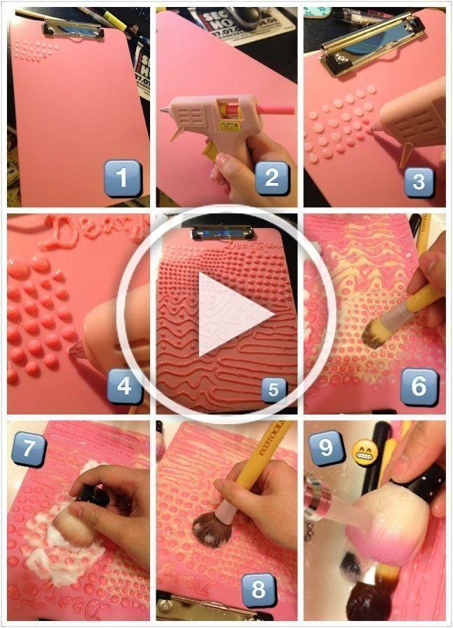Photo of Homemade Makeup Brush Cleaner Makeupviewco DIY Makeup Brush Cleaner – Di …#bru…