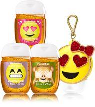 Emoji Love 3 Pack Pocketbac Holder Bath And Body Works Bath