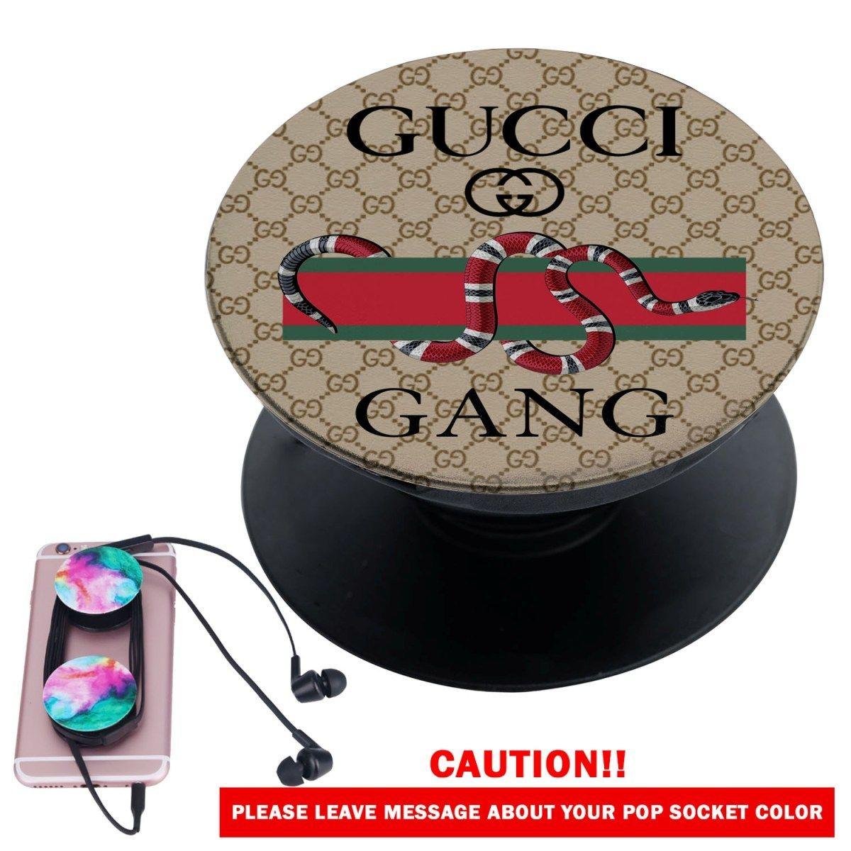 wholesale dealer b1482 52631 Gucci Gang Snake Custom Popsocket Pop Out Grip Stand Pop Socket for ...