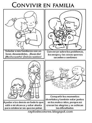 Convivencia En Familia Actividades De Convivencia Actividades De La Familia Imagenes De Convivencia