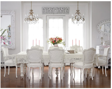 French Country Chairs Elizabeth Roberts Design  Chair Chronicles Classy White Dining Room Chairs Modern Inspiration