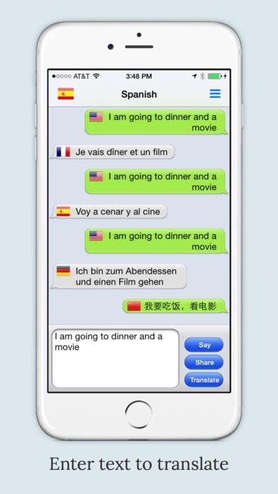 mText2Speech Text to Speech Language Translator on App