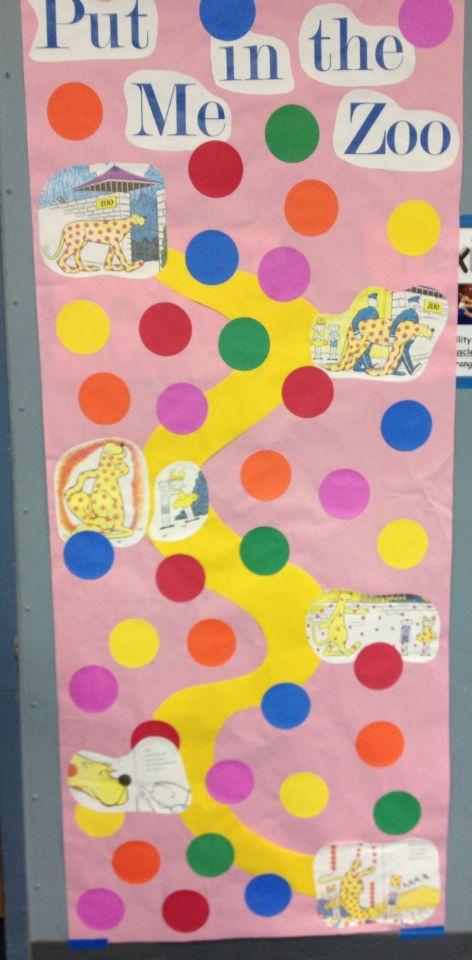Put Me In The Zoo Dr Seuss Doors Pinterest Kindergarten