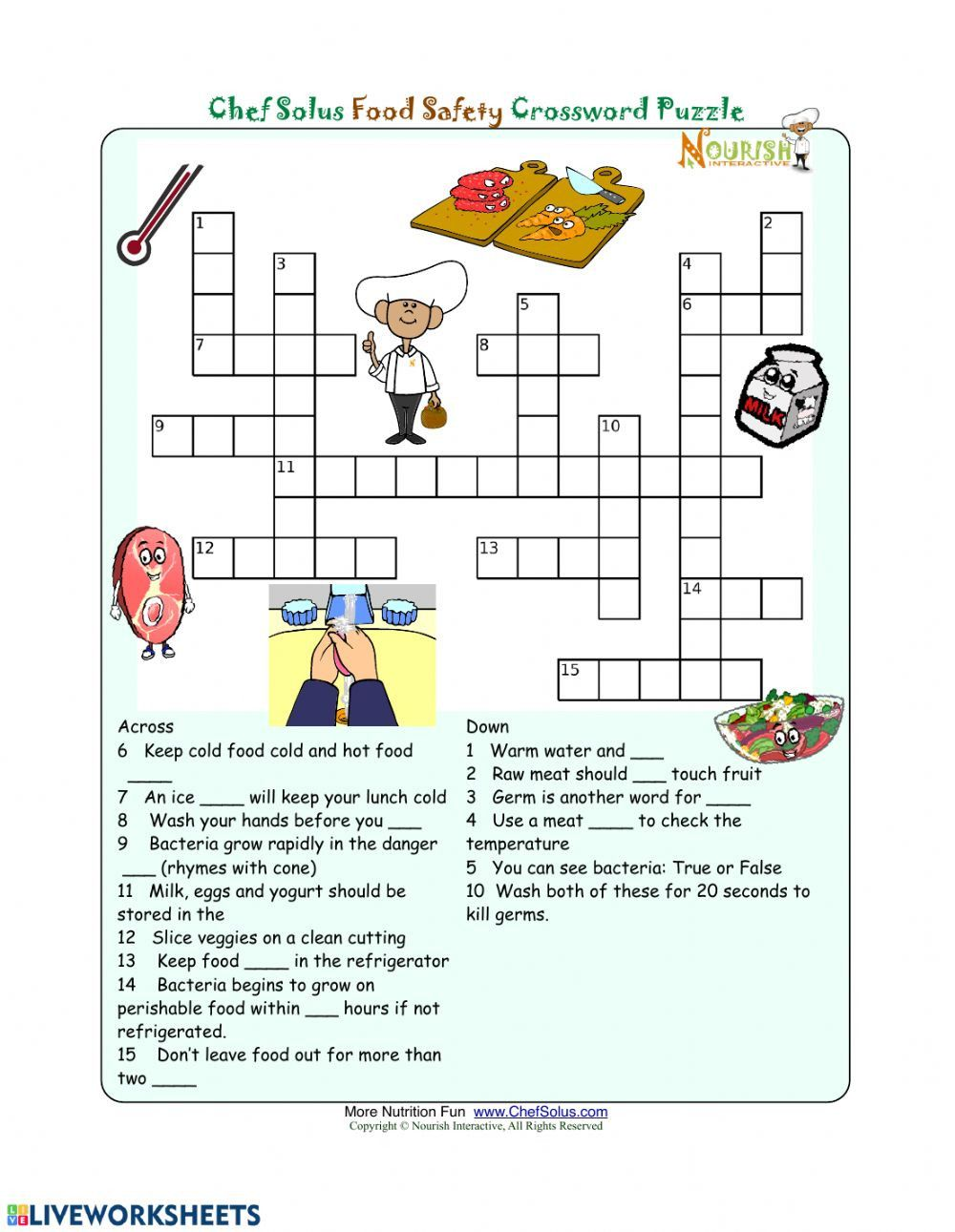 small resolution of 3rd Grade Health Worksheets   Food groups for kids