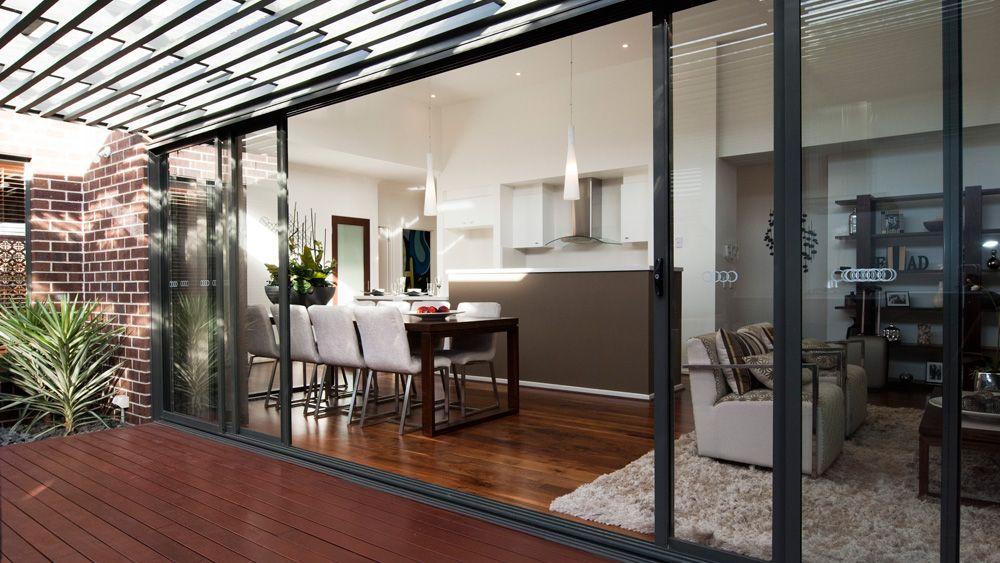 Aluminium Doors - Photo Gallery - Dowell Windows - Photo by Wilkerson. & simonds-sierra-alfresco12 | Decking | Pinterest | Sliding door ...