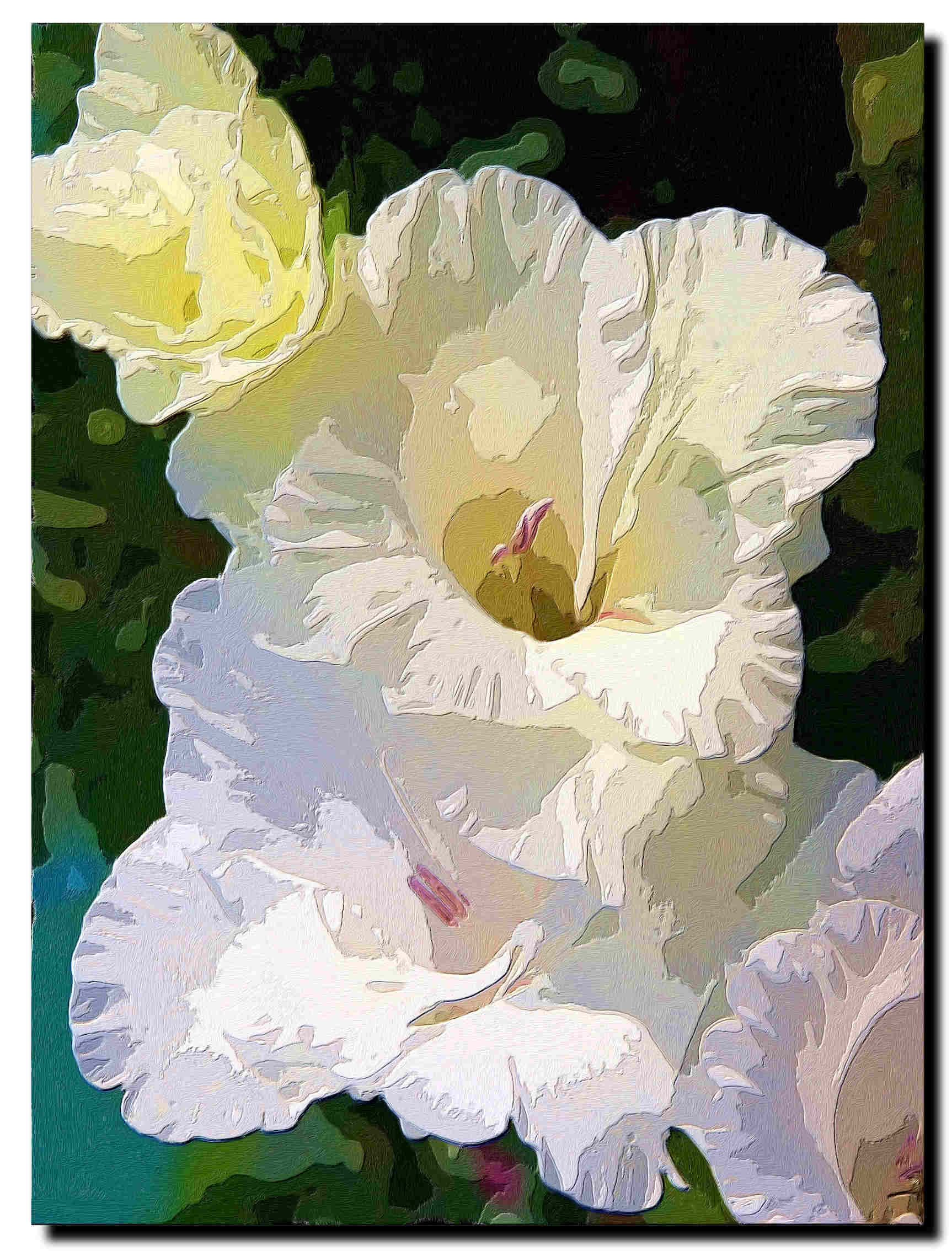 Gladiolus a la georgia okeeffe show your essentials creations gladiolus a la georgia okeeffe show your essentials creations mightylinksfo