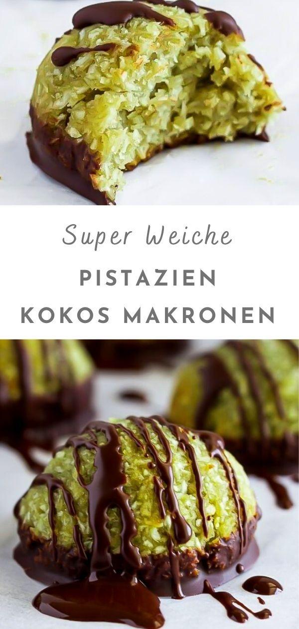 Kokos Pistazien Makronen Rezept Ohne Oblaten