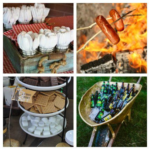 Ideas For Backyard Parties: Host A Bonfire Party This Summer With These Helpful Party