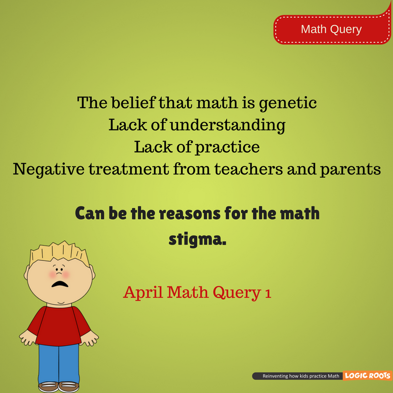 Finding the causes of math stigma is good. To rectify those causes ...