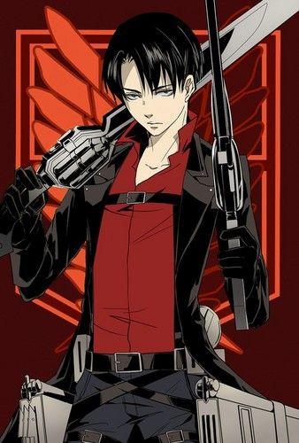 Levi 'Rivaille' (Shingeki no Kyojin) Fan Art: Levi