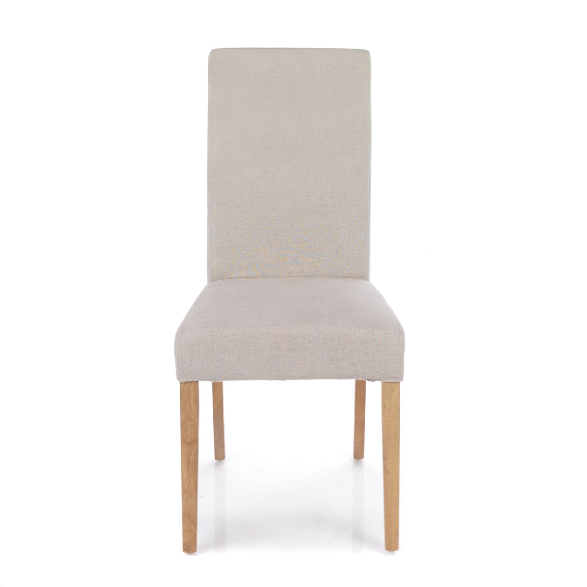 Chaise Dehoussable Naturel Monroe Chaises Tables Et Chaises Salon Et Salle A Manger Decoration D Int Mobilier De Salon Chaises Salon Chaise De Sejour