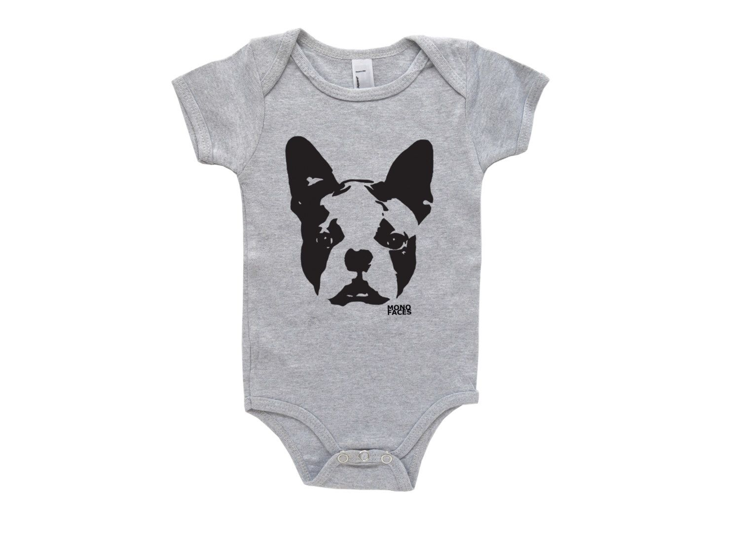 Boston terrier baby onepiece dog baby announcement hipster boy a gift from uncle cody and murphy boston terrier baby onepiece dog baby announcement negle Choice Image