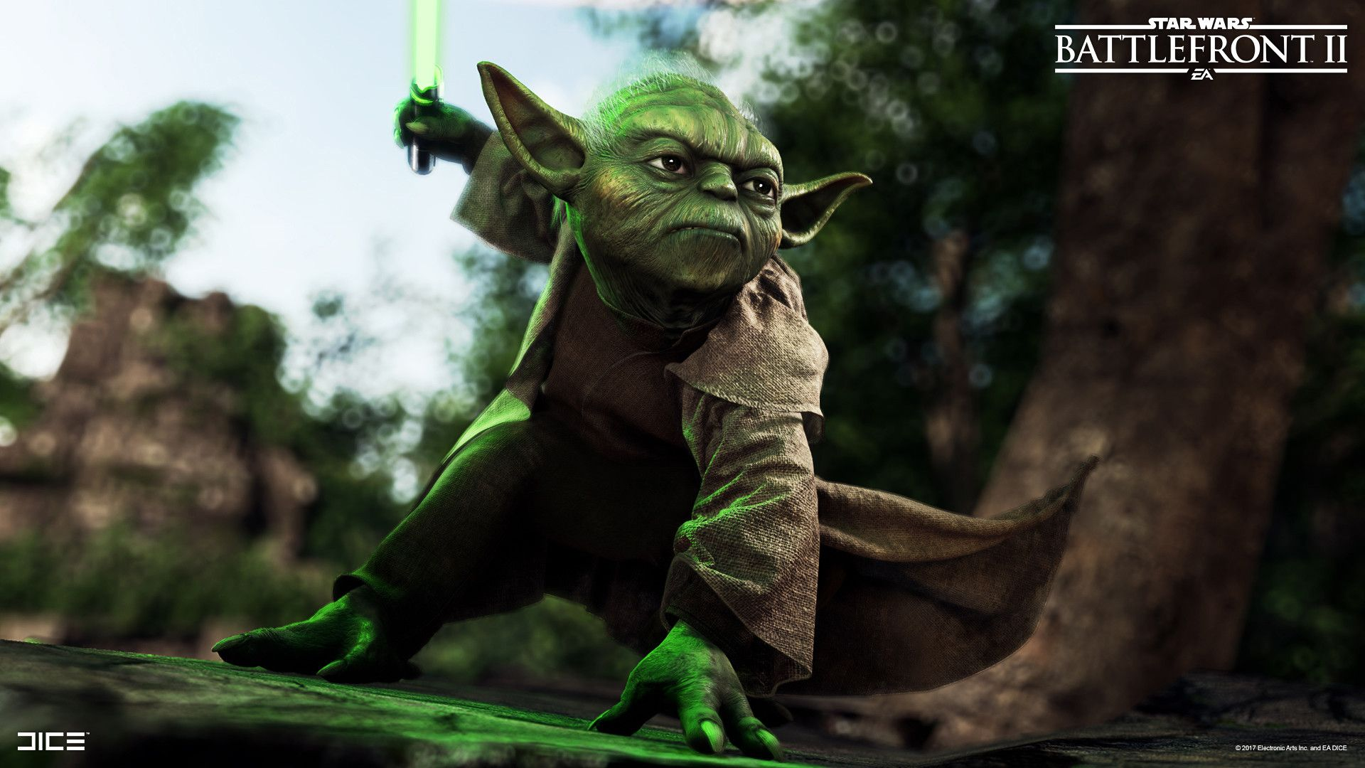 Artstation Star Wars Battlefront Ii Yoda Sanna Nivhede Star Wars Battlefront Star Wars War
