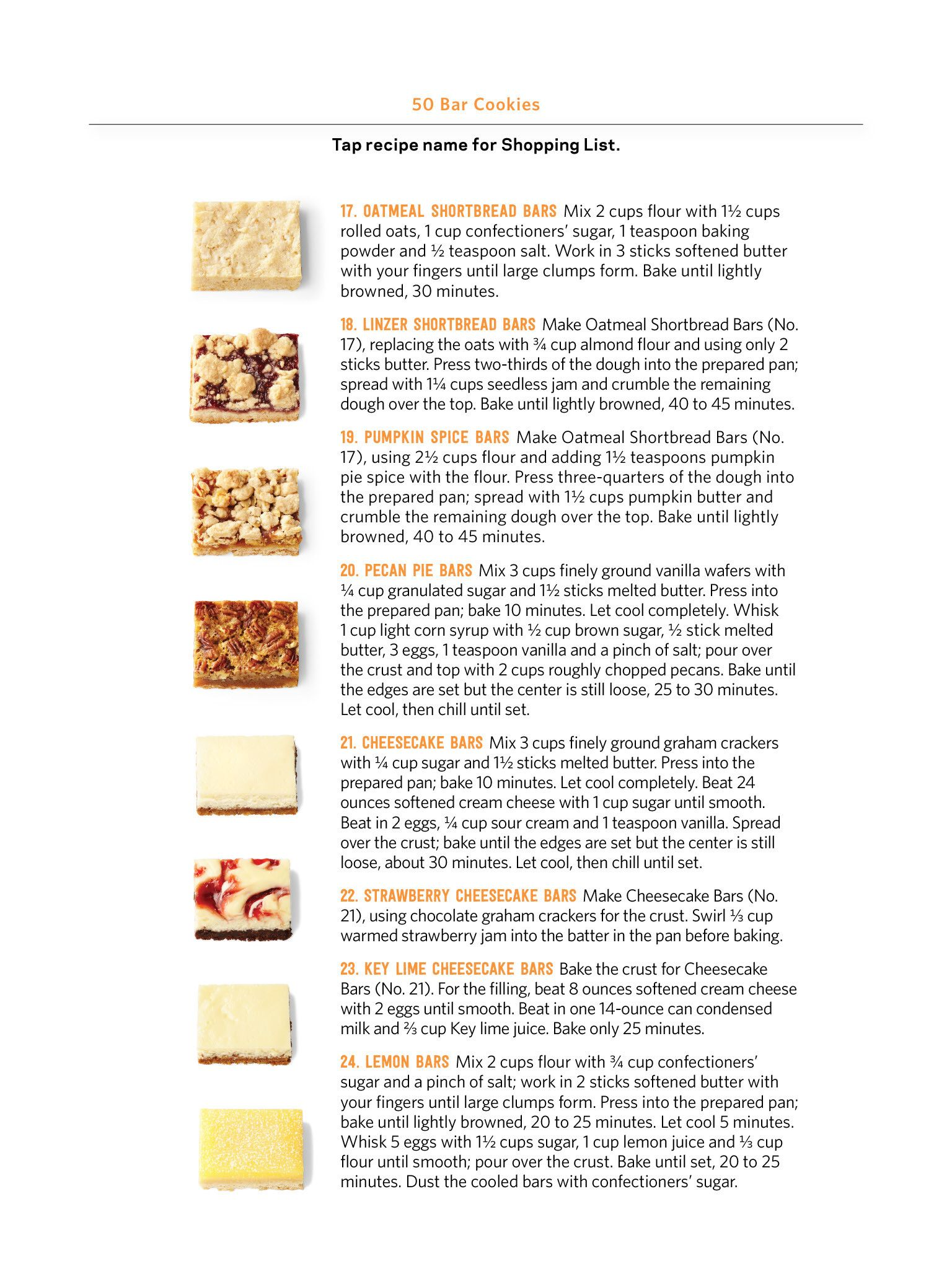 50 bar cookies from food network magazine september 2015 read it 50 bar cookies from food network magazine september 2015 read it on forumfinder Images