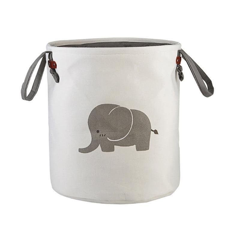 Elephant Storage Laundry Basket Toy Storage Bags Toy Storage