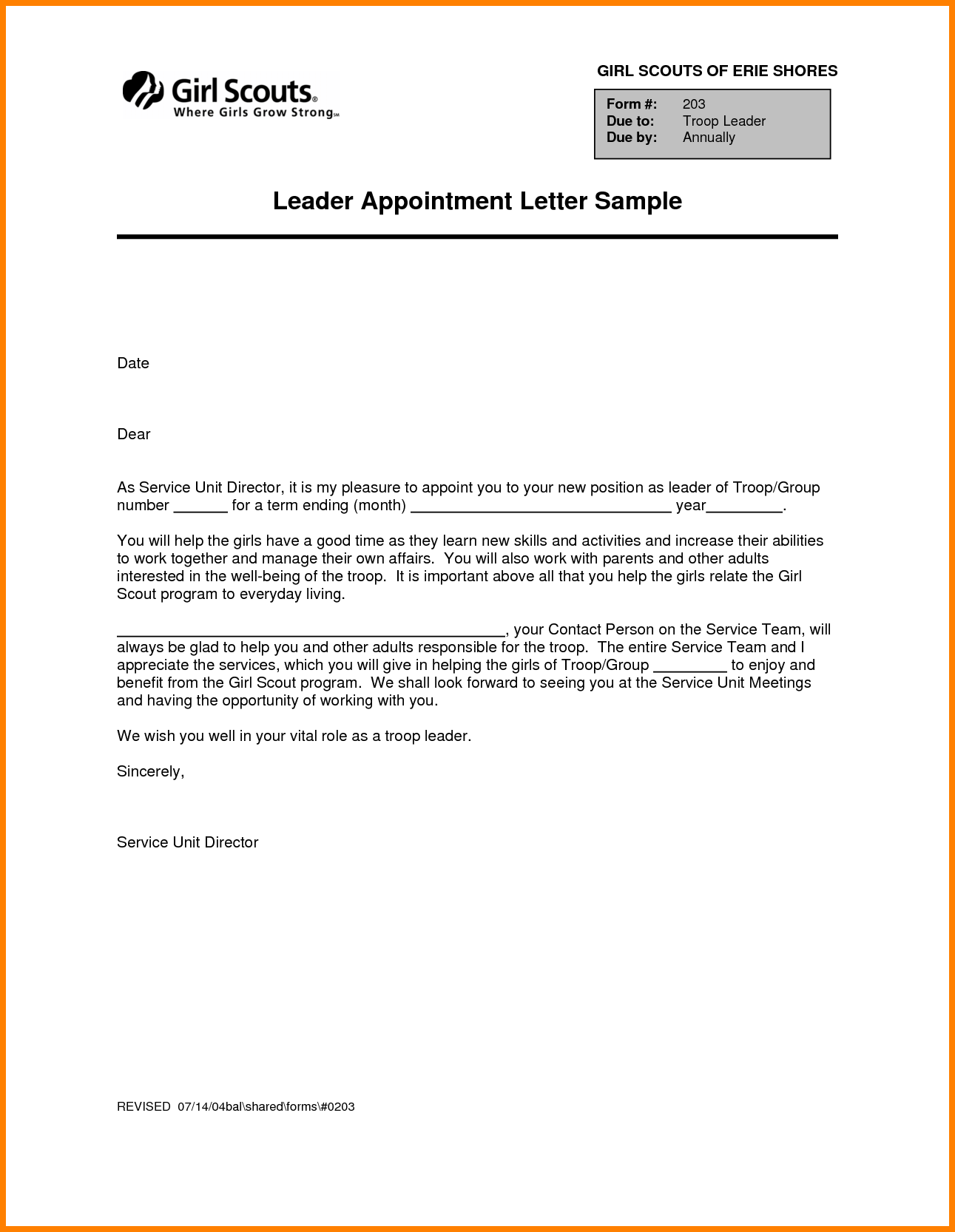 Beautiful Sample Appointment Letter Photos Office Resume Template