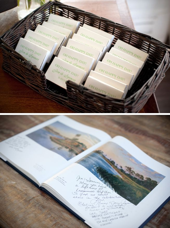 Coffee Table Book For Guest Book Sign In I Liked This Idea But