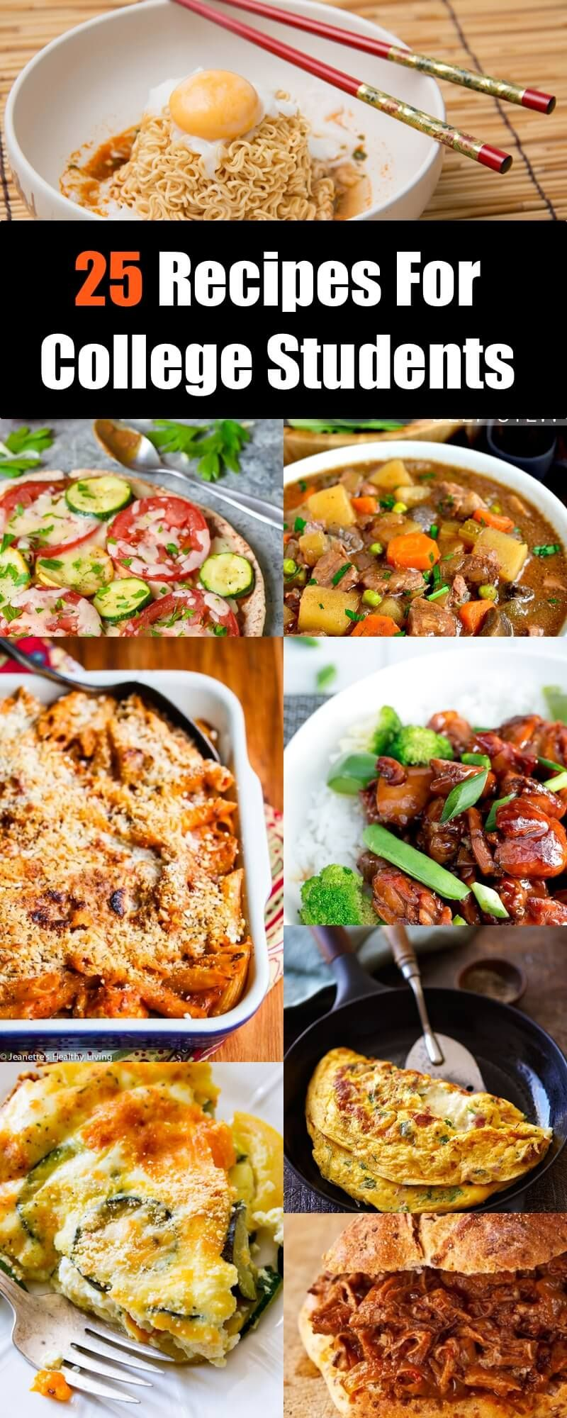 Photo of 25 Recipes For College Students That Won't Break Your Budget