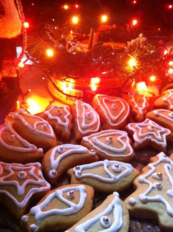 Рождественские пряники, простой рецепт с фото   Пряник ...