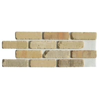 Old Mill Brick Brickwebb Alamo Sunrise Thin Brick Sheets Flats Box Of 5 Sheets 28 In X 10 5 In 8 7 Sq Ft Bw 37002cs Thin Brick Brick Paneling Brick Veneer