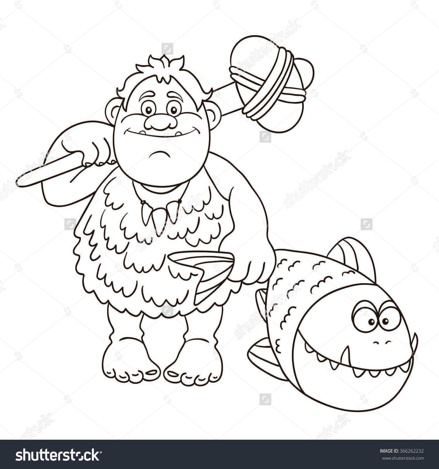 Resultat D Imatges De Stone Age Man Coloring