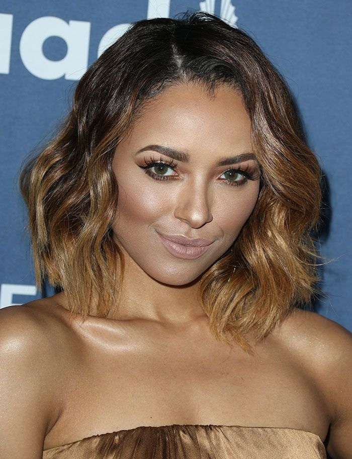 Kat Graham In Gucci Jumpsuit At The 27th Annual Glaad Media Awards