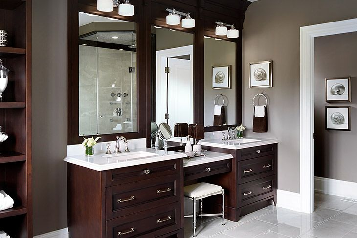 20 Master Bathrooms With Double Sink Vanities Bathroom With