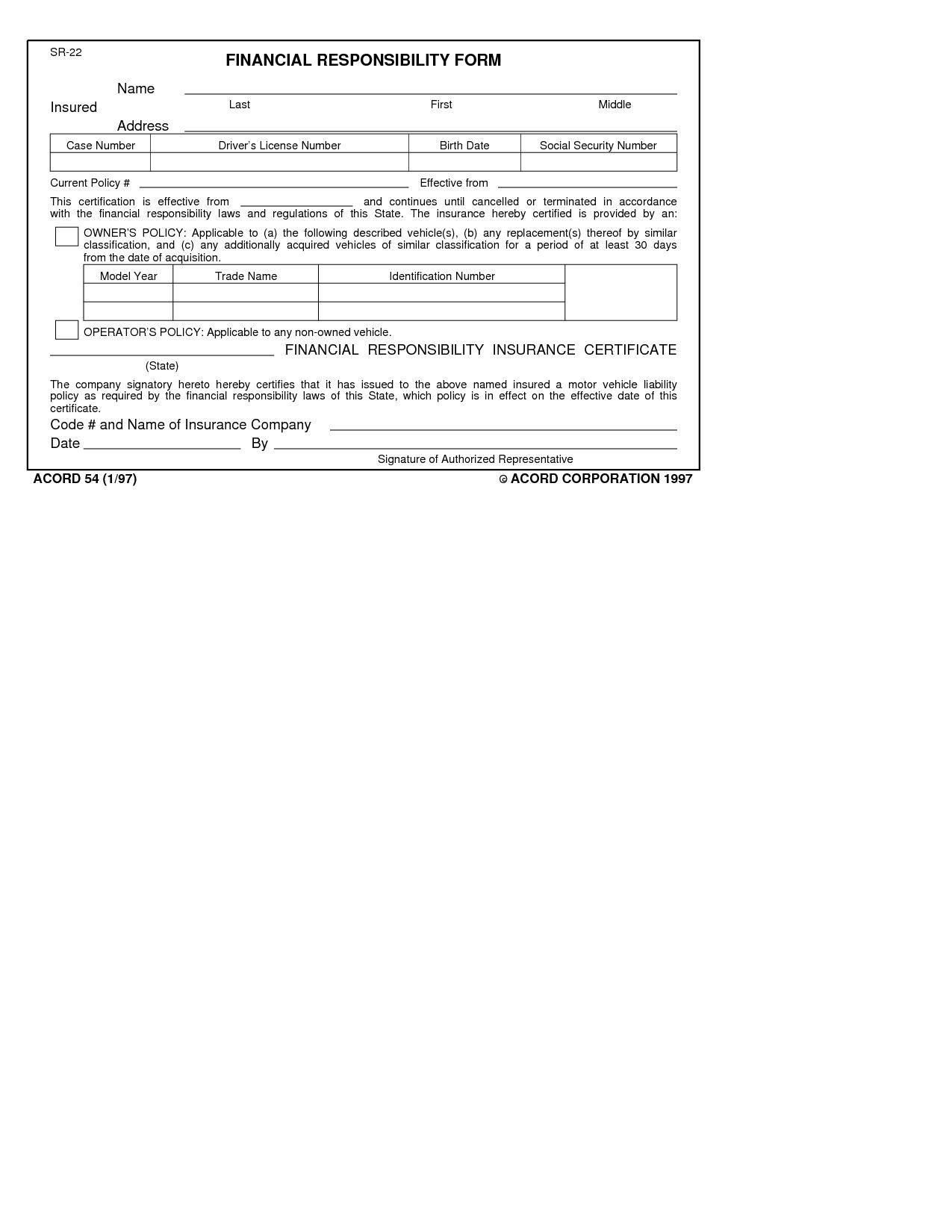The astonishing Fake Insurance Card Capdat Acord Fill ...