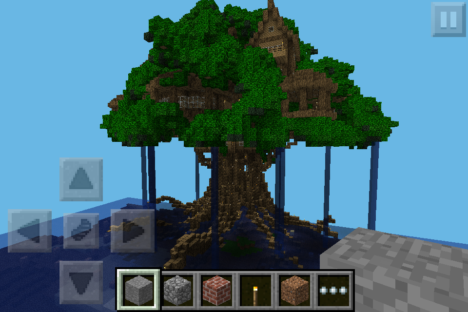 Looking For Big Treehouse Anyone Help Mcpe Maps Minecraft