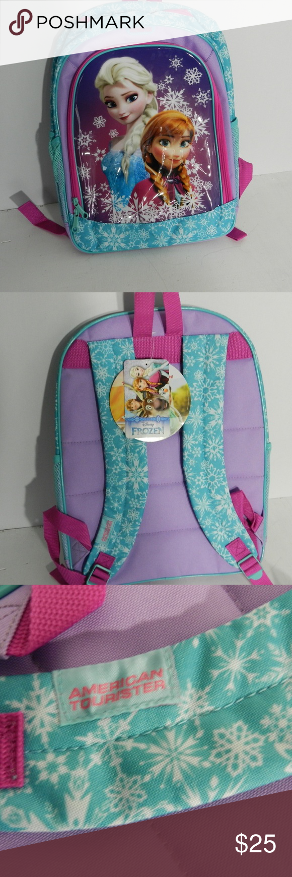 43b3d42383a American Tourister Disney Frozen Backpack NWT You are purchasing a NWT  Disney Frozen backpack. It
