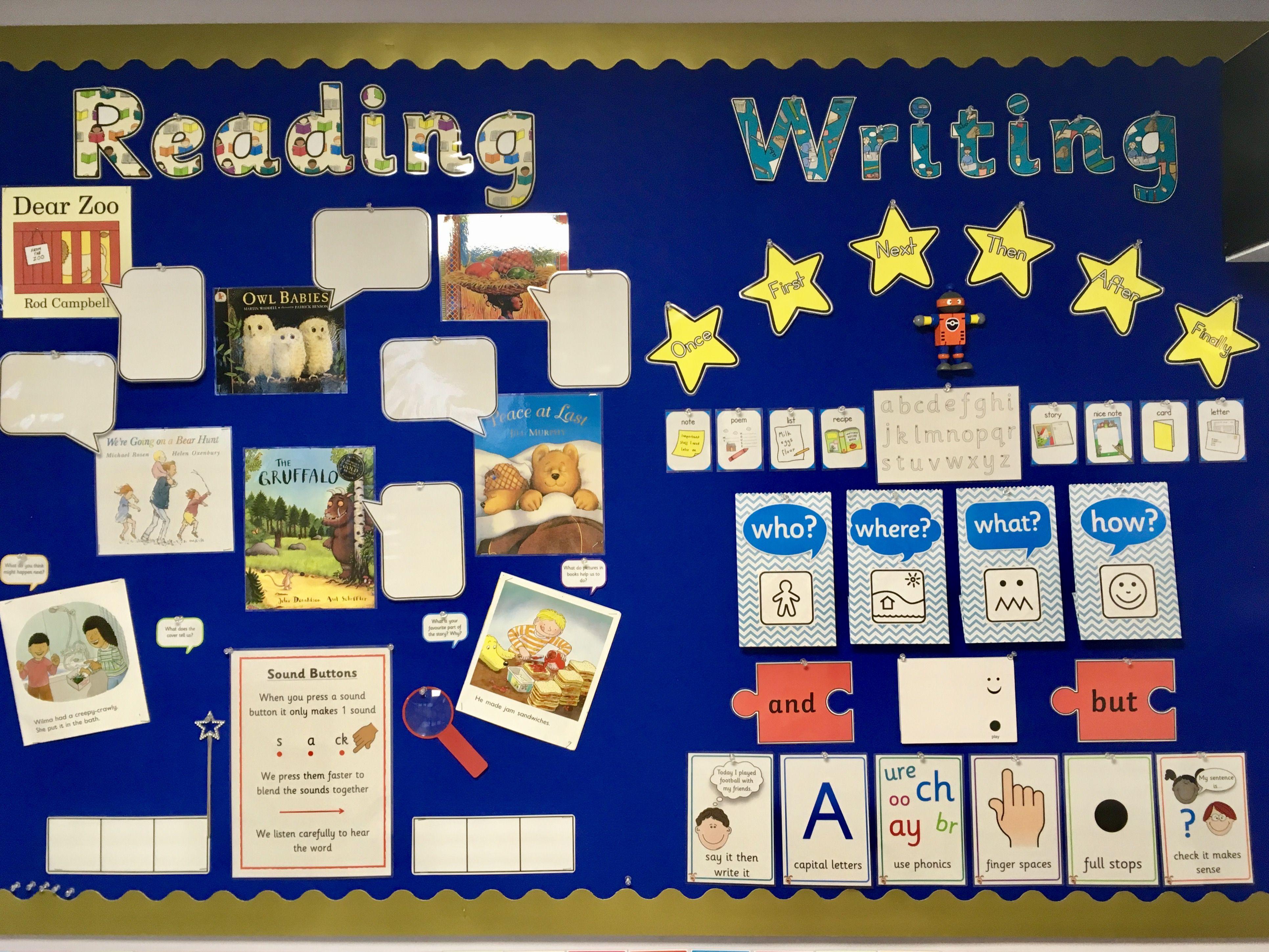 Literacy Display, Reading Display