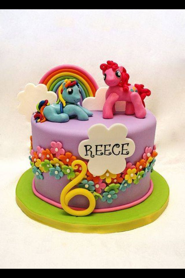 My Little Pony Cake Cute Party Ideas For Girls Pinterest