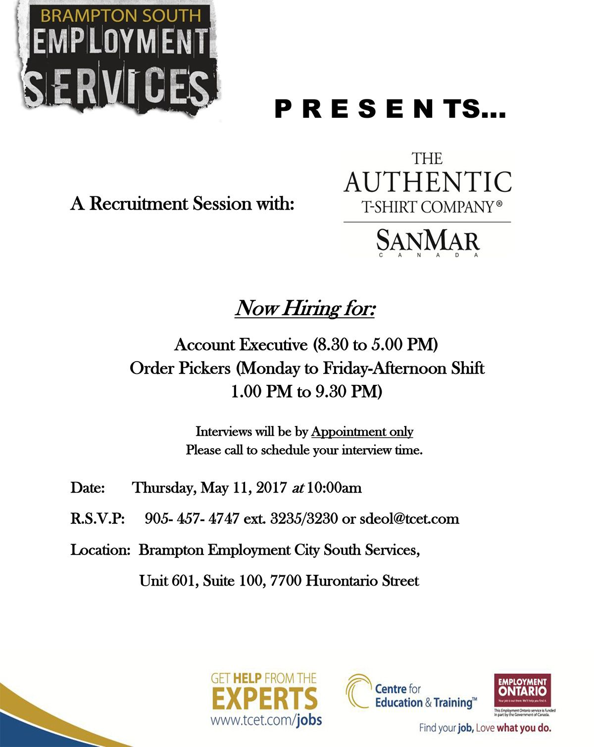 Looking For Work Tomorrow Thursday May 11 10 00am Stop By The
