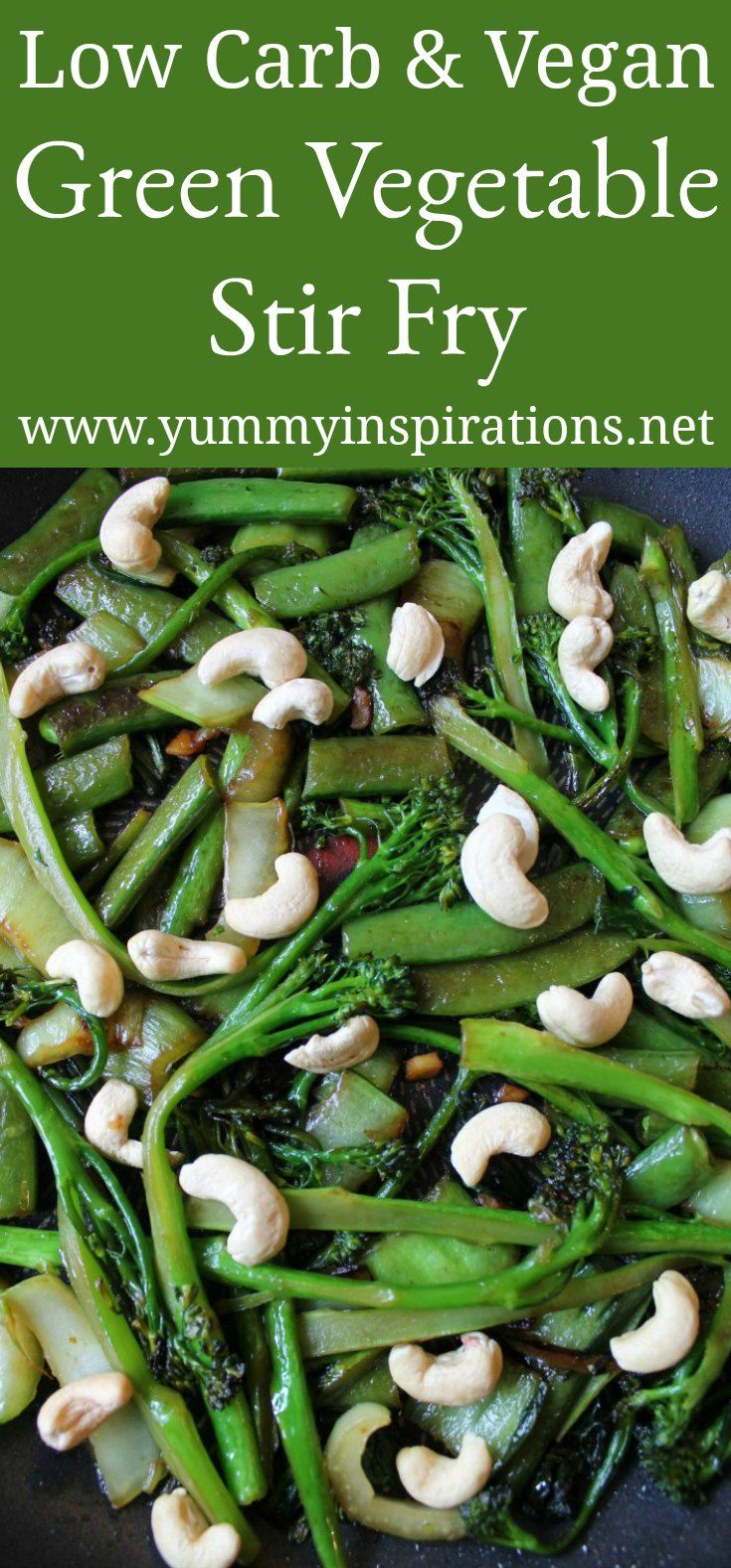 Photo of Low Carb Green Vegetable Stir Fry Recipe – Vegan Stir Fry Recipes