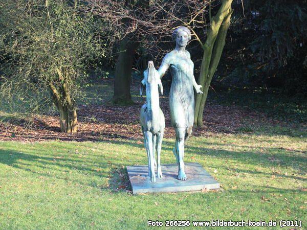 Lovely Skulptur in der Flora und Botanischer Garten Alter Stammheimer Weg K ln Riehl