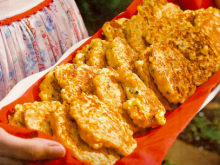 If we have fresh corn, it usually gets gobbled up - but in case anyone would care to gift us with their surplus; this looks like something to definitely try!  Fresh Corn Cakes | Louisiana Kitchen & Culture