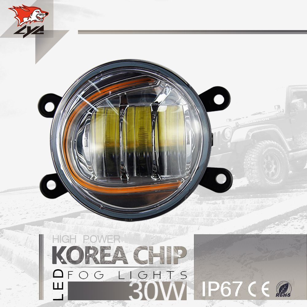 Lyc Fog Lamp Led Led Driving Steering Signal Point Of Daytime Running Lights Hid Tractor Fog Headlights 3000k 6000k Led Fog Lights Car Led Lights Fog Lamps