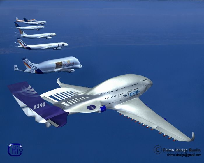 Airbus A390 Shark By Joakin Sales At Coroflot Com Airbus Aircraft Design Aircraft
